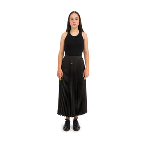 Marios Arise Skirt Techno Satin Black - Concrete