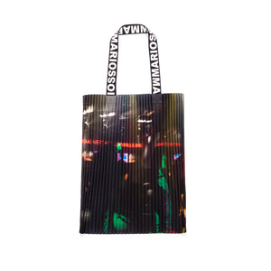 Marios Arm Bag Techno Placed Print - Concrete