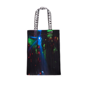 Marios Arm Bag Techno Placed Print Glitter - Concrete