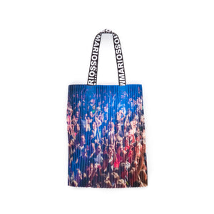 Marios Arm Bag Techno Placed Print Tenax - Concrete