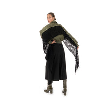 Load image into Gallery viewer, Marios Basame Scarf Velox Black