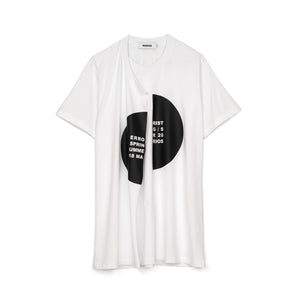 Marios Errorist Spiral T-Shirt White