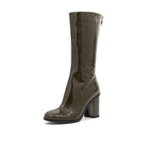 Load image into Gallery viewer, Marios W Mid-Calf Boots Olive Green - Concrete