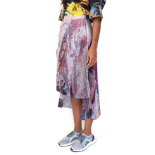 Load image into Gallery viewer, Marios x Goshka Macuga Asymmetric Skirt Madness Reversible - Concrete