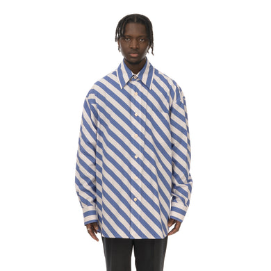Marni | Shirt White / Blue Stripe