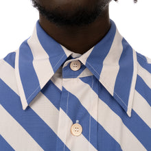 將圖像加載到畫廊查看器中Marni | Shirt White / Blue Stripe - Concrete