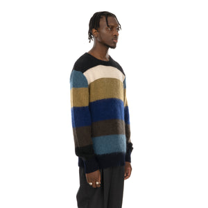 Marni | Roundneck Sweater Multi Stripe - Concrete