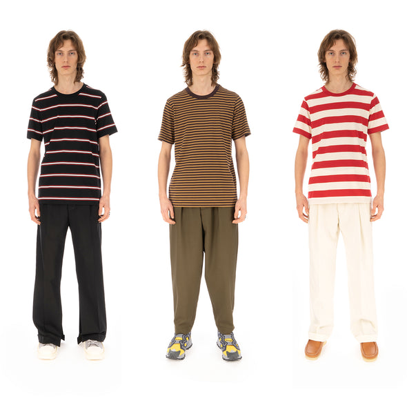 Marni | T-Shirt Striped Multi - 3-Pack - Concrete