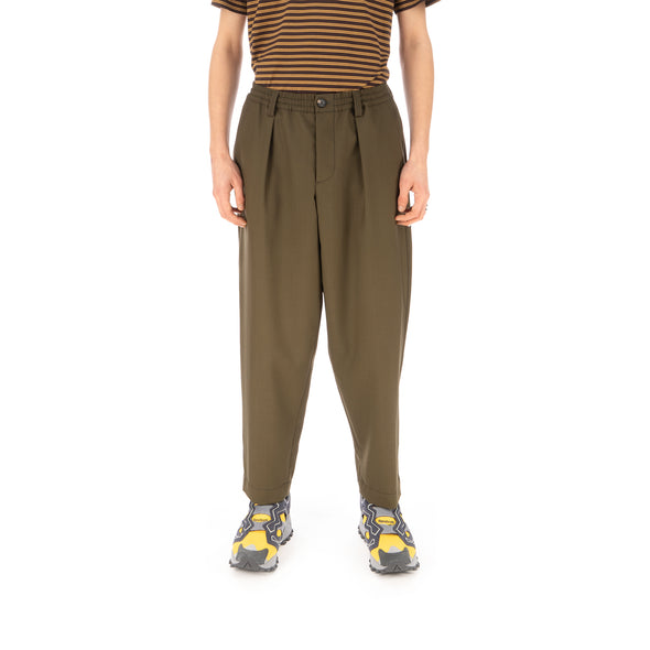 Marni | Pants Dark Olive - Concrete