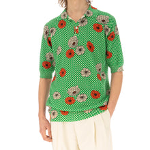 Load image into Gallery viewer, Marni | Polo Neck Green Flower Print