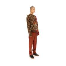 Load image into Gallery viewer, Marni | Roundneck Sweater Brown / Red - GCMG0085QX - Concrete