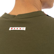將圖像加載到畫廊查看器中Marni | T-Shirt Black Stripe - HUMU0144A0 - Concrete