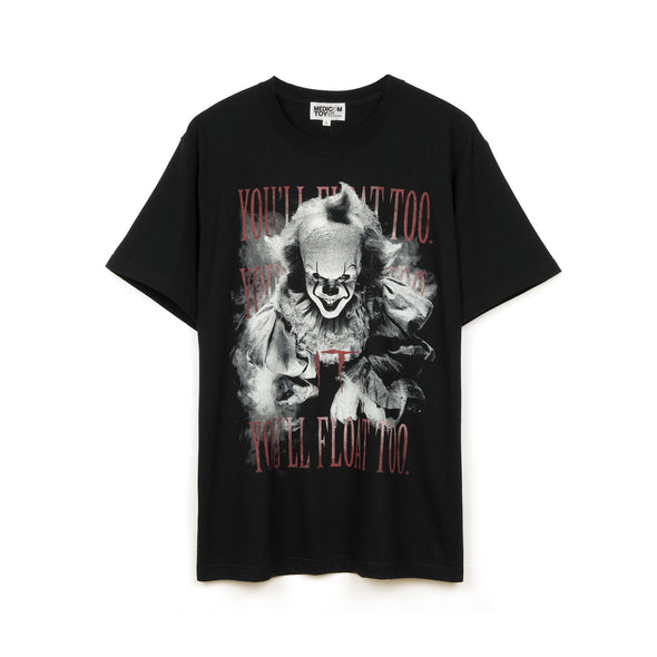Medicom Toy | MLE 'IT Pennywise 2' T-Shirt Black - Concrete