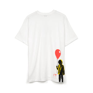 Medicom Toy | MLE 'IT Balloon' T-Shirt White - Concrete