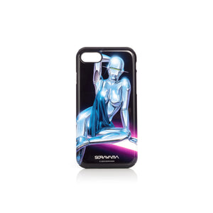 Medicom Toy | x Sorayama 'Sexy Robot' iPhone 7/8 Case Design 1 Black