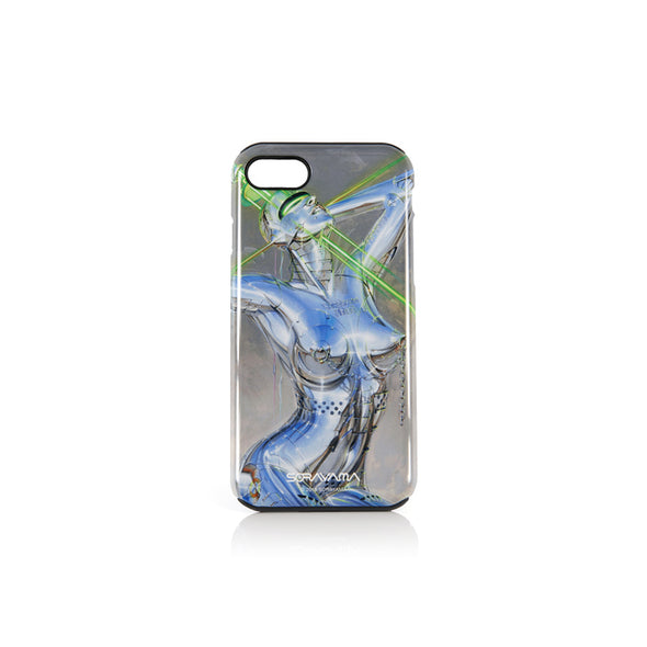 Medicom Toy | x Sorayama 'Sexy Robot' iPhone 7/8 Case Design 3 Green