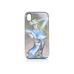 Medicom Toy | x Sorayama 'Sexy Robot' iPhone XR Case Design 1 Green - Concrete