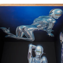 Afbeelding in Gallery-weergave laden, Medicom Toy | x Sorayama 'Sexy Robot' Square Shelf by KARIMOKU