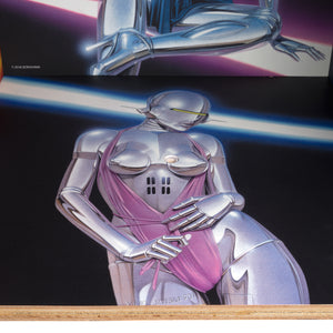 Medicom Toy | x Sorayama 'Sexy Robot' Square Shelf by KARIMOKU