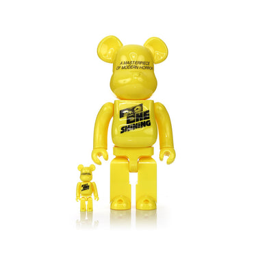 Medicom Toy | Be@rbrick THE SHiNiNG POSTER Ver. 400% & 100% set - Concrete