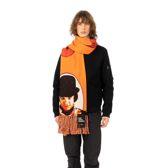 Medicom Toy | x Knit Gang Council 'A Clockwork Orange' Alex Knit Scarf Orange - Concrete
