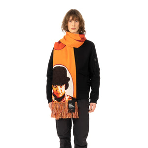 Medicom Toy | x Knit Gang Council 'A Clockwork Orange' Alex Knit Scarf Orange