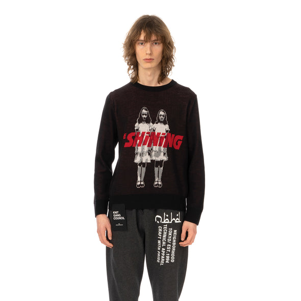 Medicom Toy | x Knit Gang Council 'The Shining' Twins Sweater Black