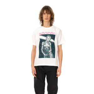 Medicom Toy | x Sorayama 'Sexy Robot 01' T-Shirt White / Dark Green - Concrete