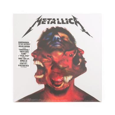 Metallica Hardwired to Self Destruct -LTD- Three LP + CD - Concrete