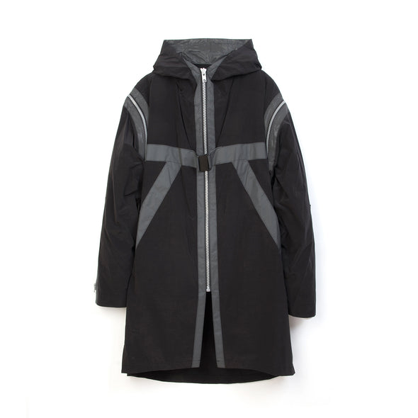 Michiko Koshino | Parka Black - Concrete