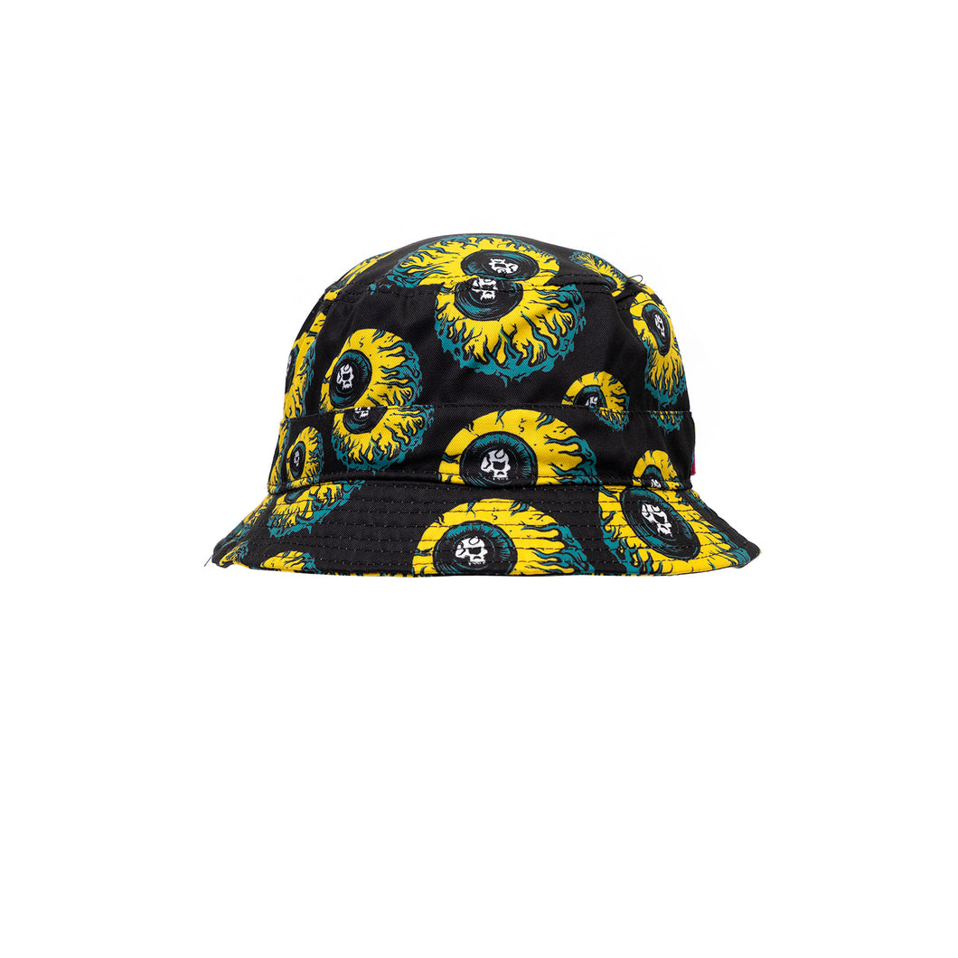 Mishka Lamour Keep Watch Bucket Hat Black - Concrete