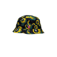將圖像加載到畫廊查看器中Mishka Lamour Keep Watch Bucket Hat Black - Concrete