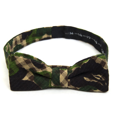 Mr. Bathing Ape Panel ABC Gingham Bow Tie Green - Concrete