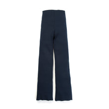 Load image into Gallery viewer, Museum of Friendship Rib Knit Trousers Blue - Concrete