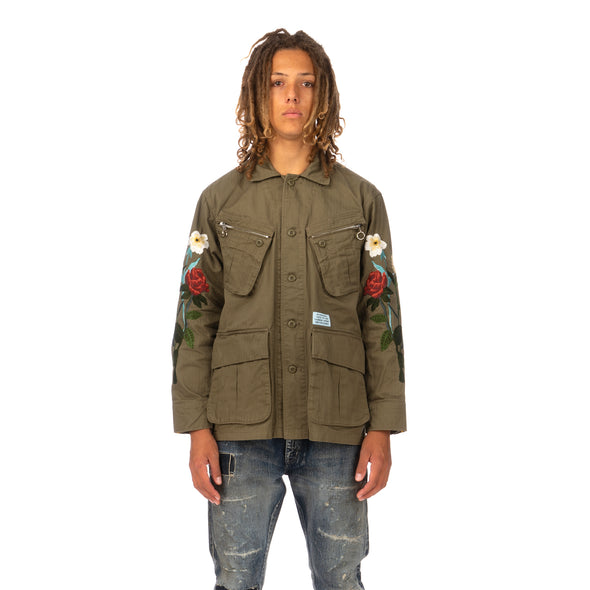 NEIGHBORHOOD | Combat / C-JKT Olive Drab