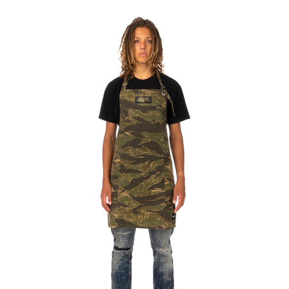 NEIGHBORHOOD | Mil-Tiger / C-Apron Tiger Stripe - Concrete