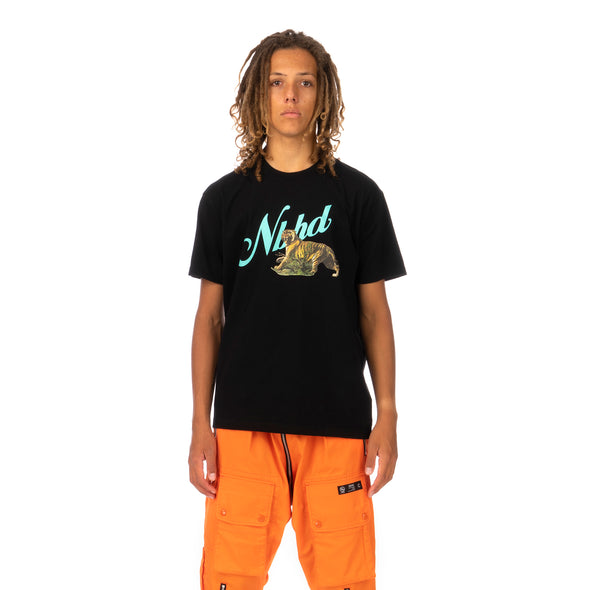 NEIGHBORHOOD | Tiger / C-Tee .SS Black - Concrete