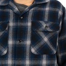 將圖像加載到畫廊查看器中NEIGHBORHOOD | B&C / W-Shirt. LS Blue - Concrete