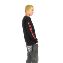 將圖像加載到畫廊查看器中NEIGHBORHOOD NO MERCY-1 / C-Tee .LS Black / Red
