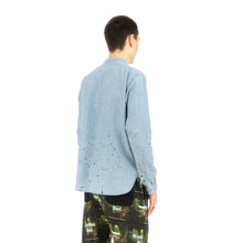 Load image into Gallery viewer, NEIGHBORHOOD 'Old Joe' . Chambray / C-Shirt LS Indigo
