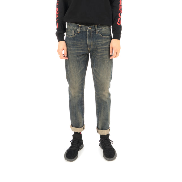 NEIGHBORHOOD Washed DP Narrow Jeans / 14OZ-PT Indigo