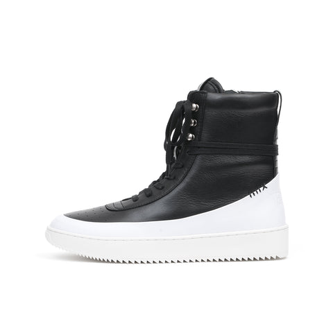 NEWAMS Highland Sneaker Boot Black/White