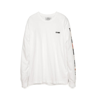NEIGHBORHOOD 'CTDNH-2' / C-TEE. LS Pullover White - Concrete