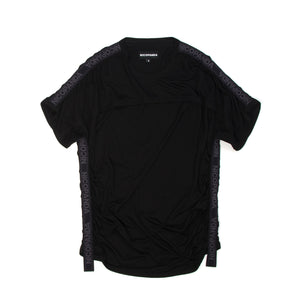 NicoPanda Action Neck Tee Black - Concrete