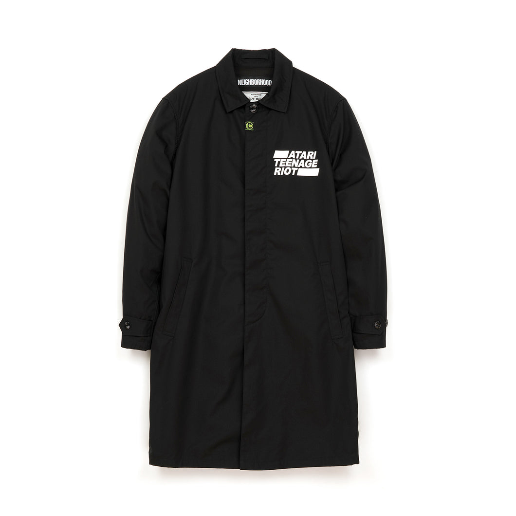 NEIGHBORHOOD 'ATR. Trench' / C-Coat Black