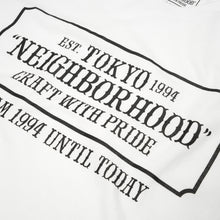 Load image into Gallery viewer, NEIGHBORHOOD 'Bar & Shields' / C-TEE. SS White