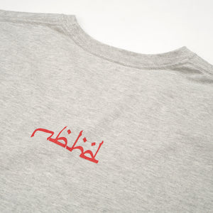 NEIGHBORHOOD 'F&F.ABJAD' / C-TEE LS Gray