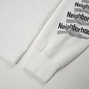 NEIGHBORHOOD ID / C-Tee LS White