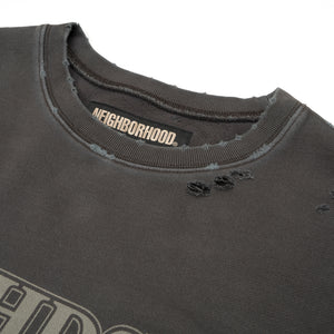 NEIGHBORHOOD | Wild Side / C-Crew. LS Black - Concrete