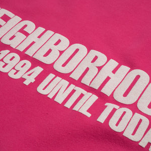 NEIGHBORHOOD | Classic-S / C-Crew. LS Pink - Concrete